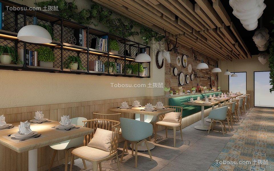 茶餐厅背景墙效果图