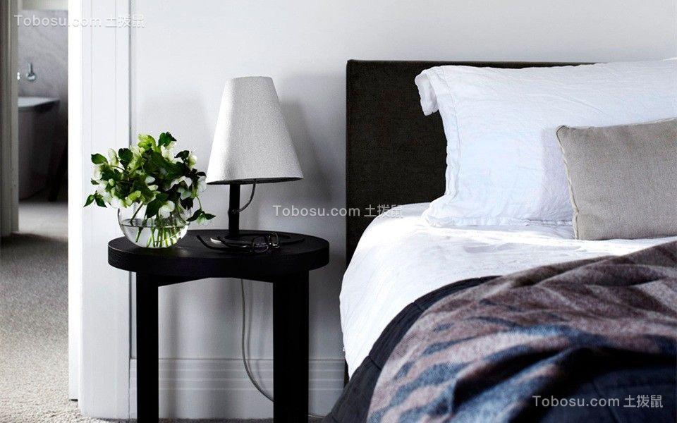 二居室北欧风格黑白经典设计