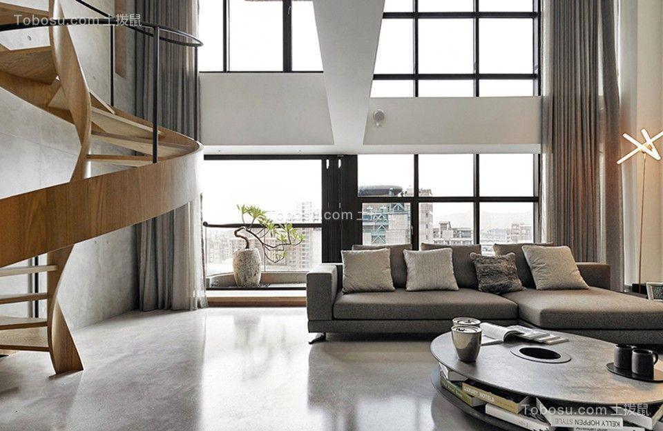 95平三居室北欧风格案例图片