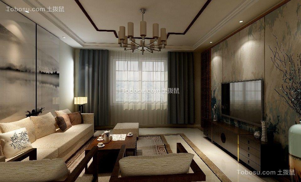 2019新中式客厅装修设计 2019新中式沙发装修设计图片
