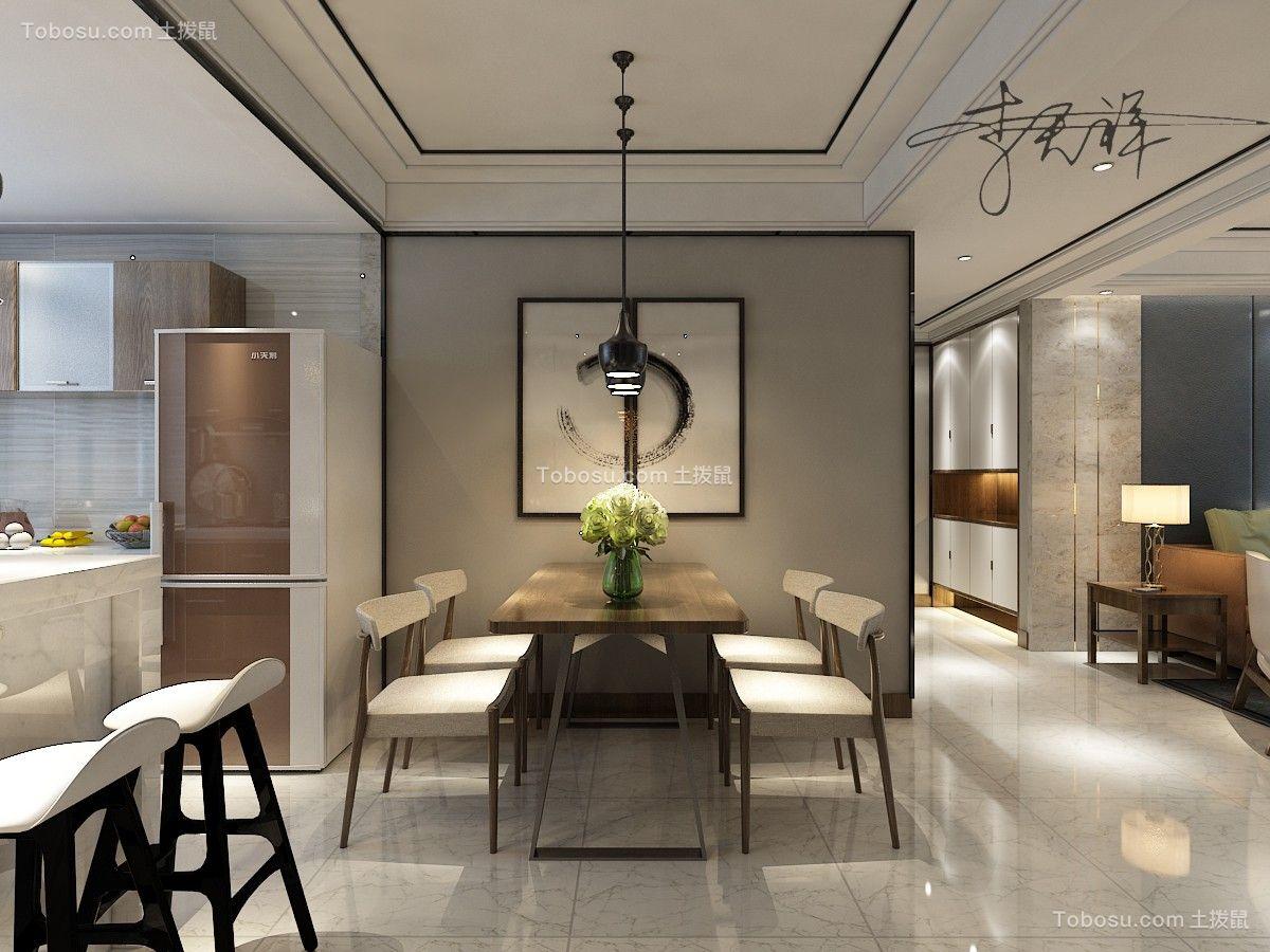 2019新中式餐厅效果图 2019新中式背景墙装修设计