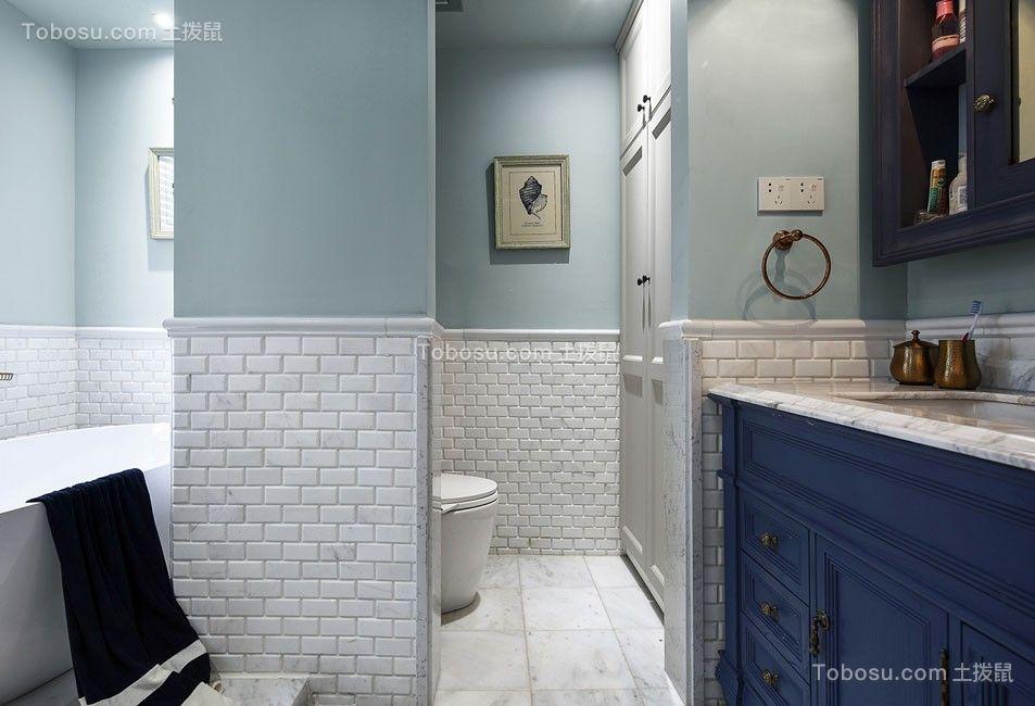 2019法式卫生间装修图片 2019法式浴室柜装修图片