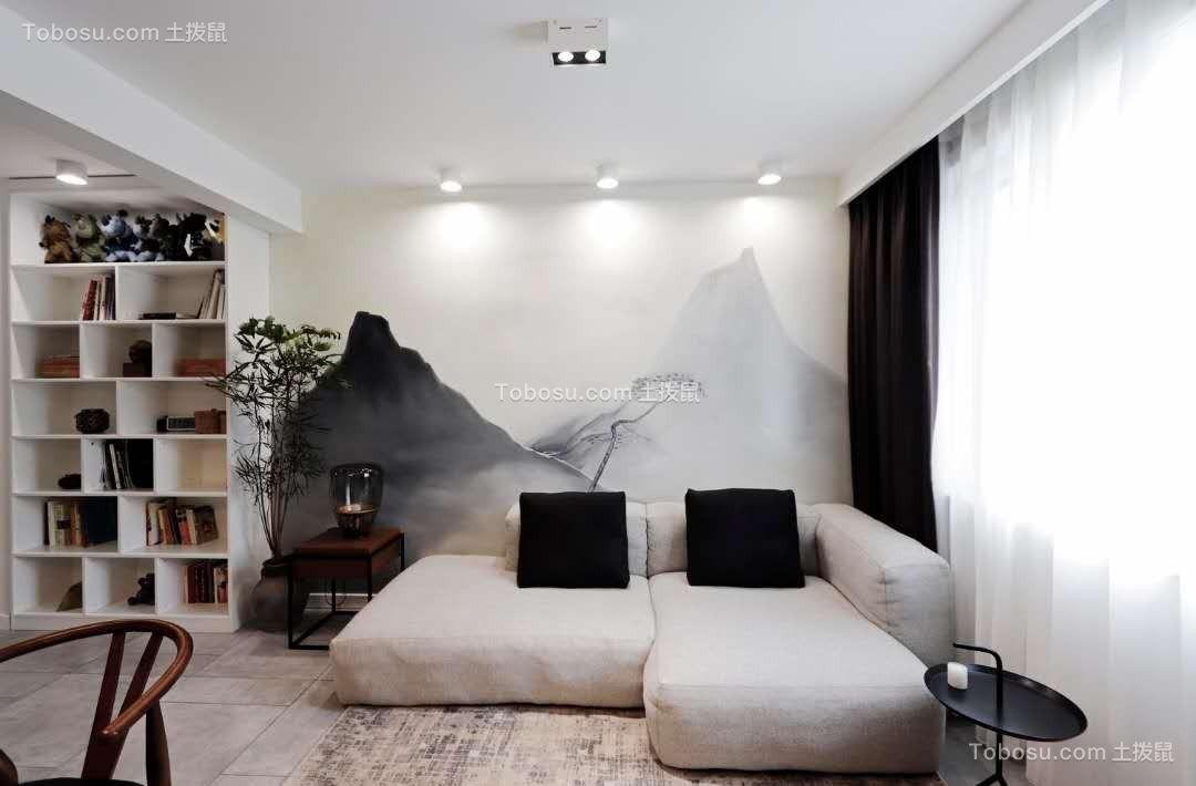 科园社区142平方两室一厅装修效果图