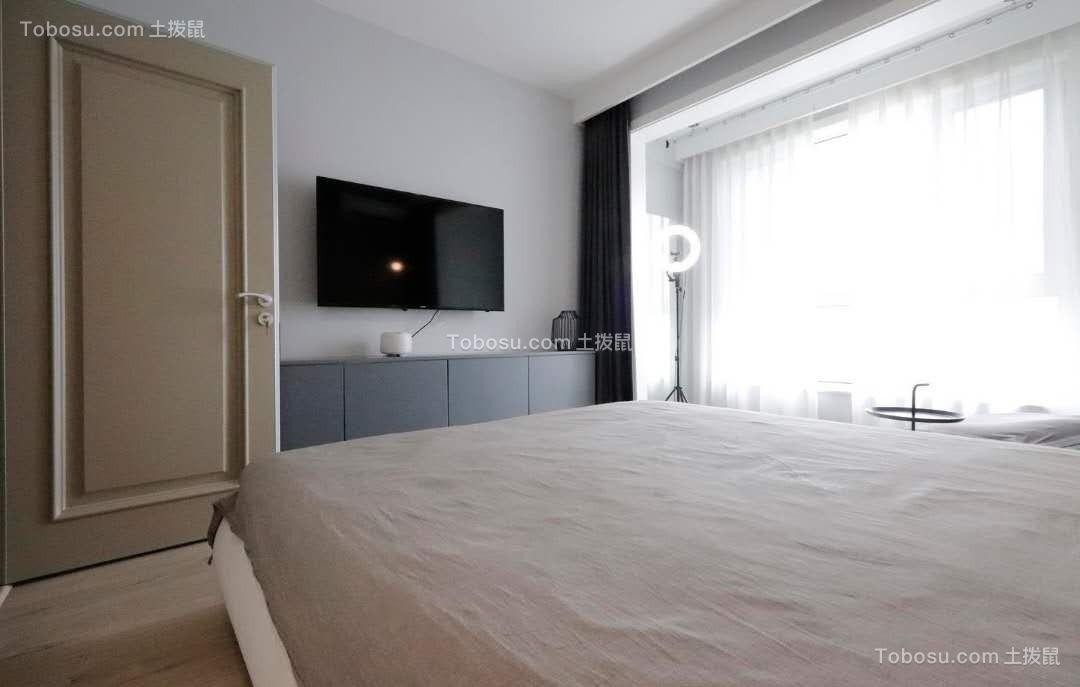 2020现代简约卧室装修设计图片 2020现代简约地板装修图片
