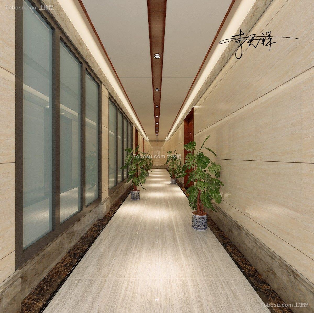 办公楼二楼走廊