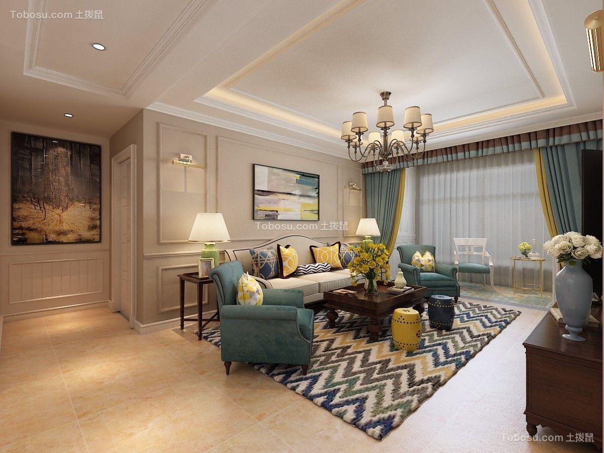 2019简单客厅装修设计 2019简单沙发装修图