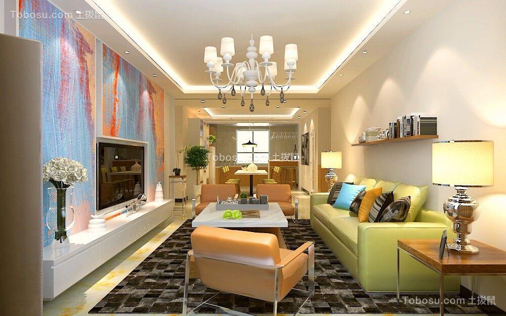 160平简约楼房装修设计