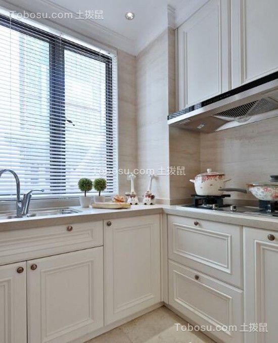 2019欧式厨房装修图 2019欧式厨房岛台装饰设计