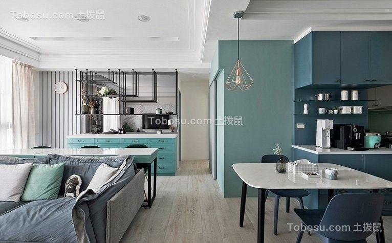 75平法式小公寓设计效果图