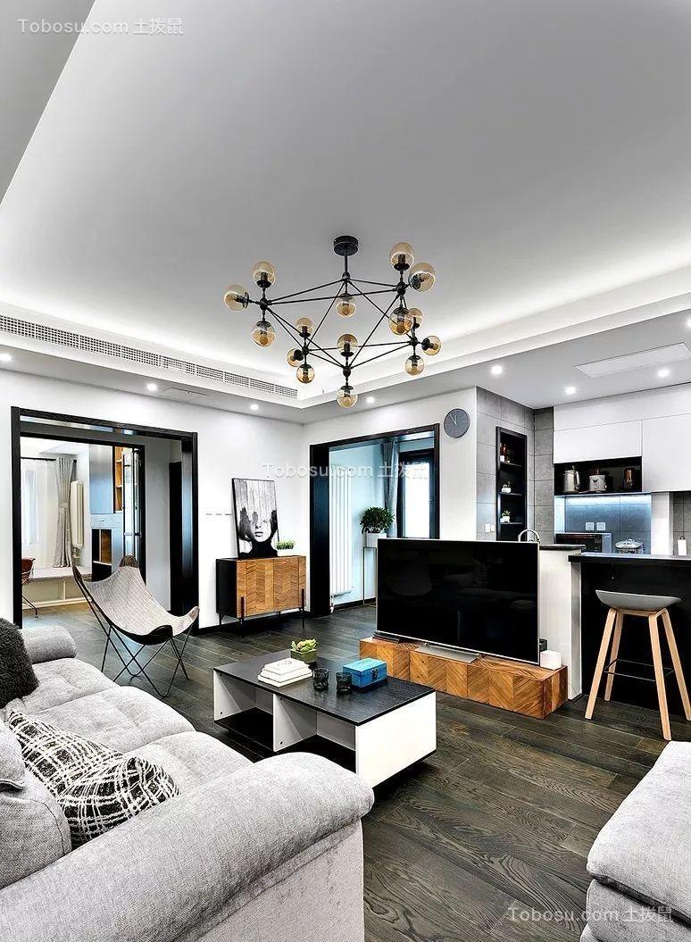 170平現代簡約風格四居室裝修案例