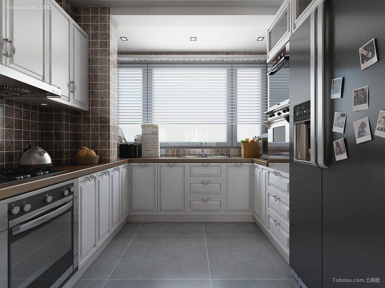 2019欧式厨房装修图 2019欧式细节装修图片