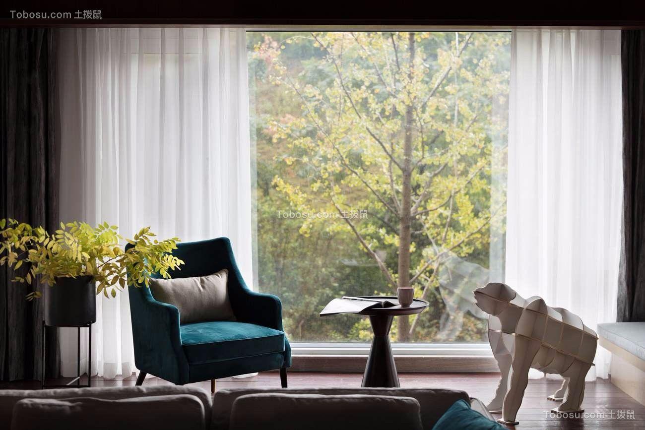2020美式客厅装修设计 2020美式窗台设计图片