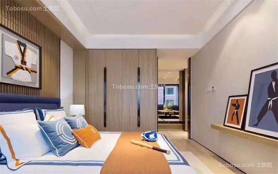 2019新中式卧室装修设计图片 2019新中式隔断装修效果图大全