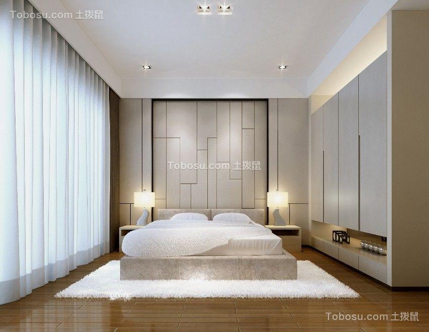 简奢风格130平四居室装修设计