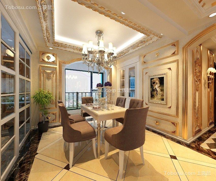 欧式290平别墅装修设计效果图