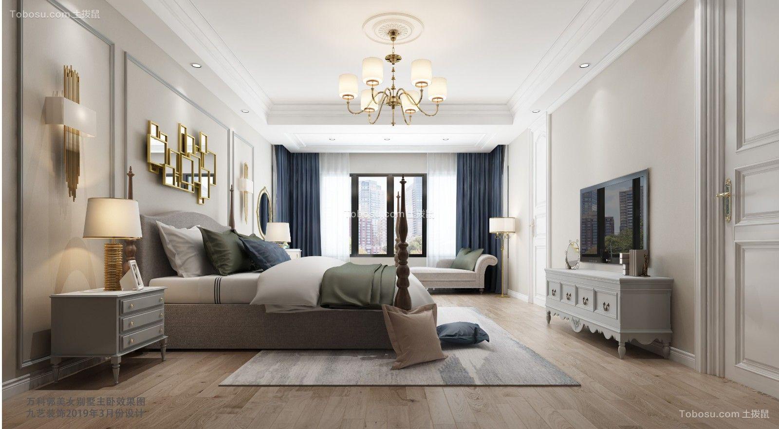 万科龙236平后现代风格别墅设计图