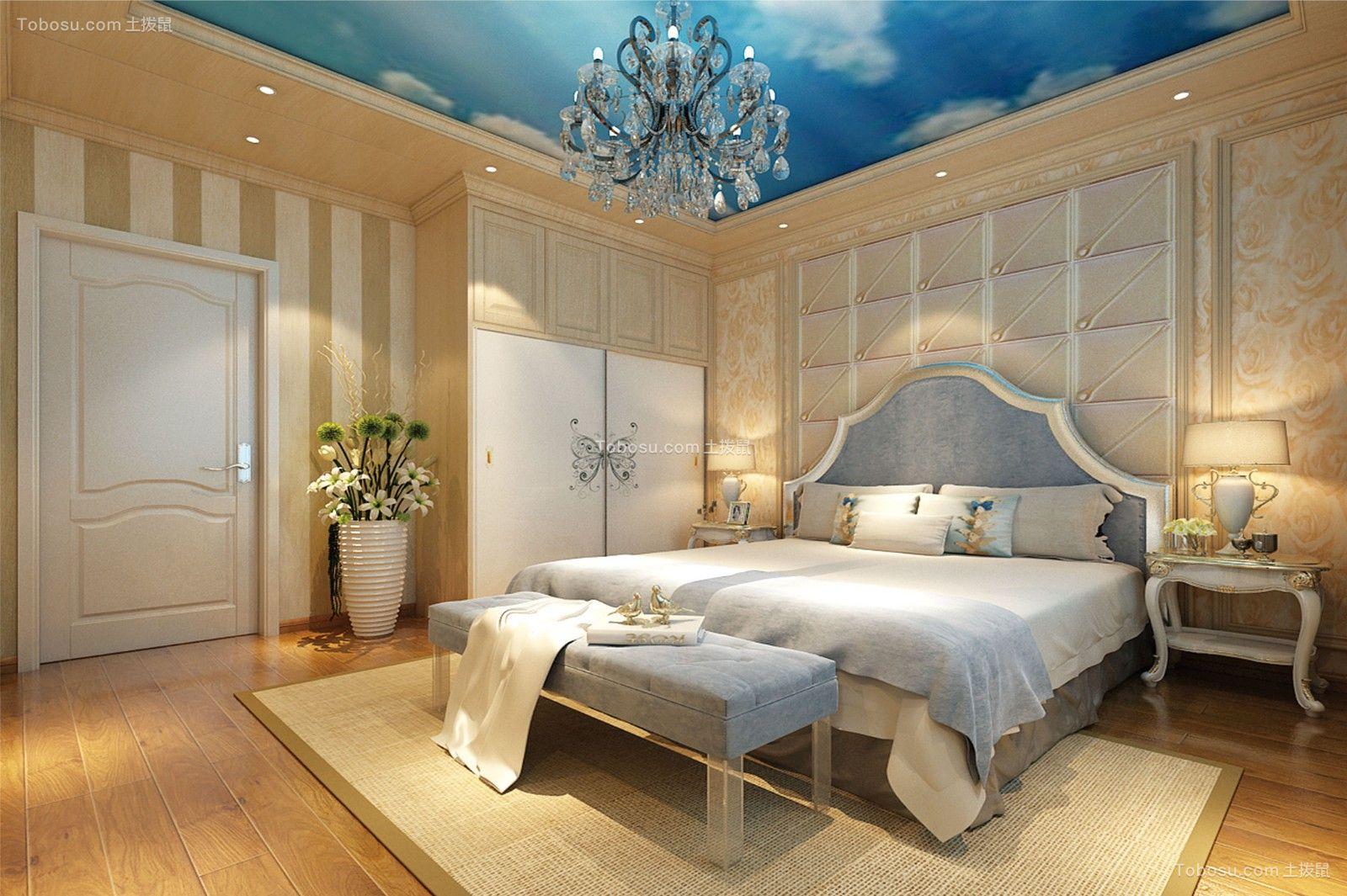 4室2厅3卫180平米复式简欧装修效果图
