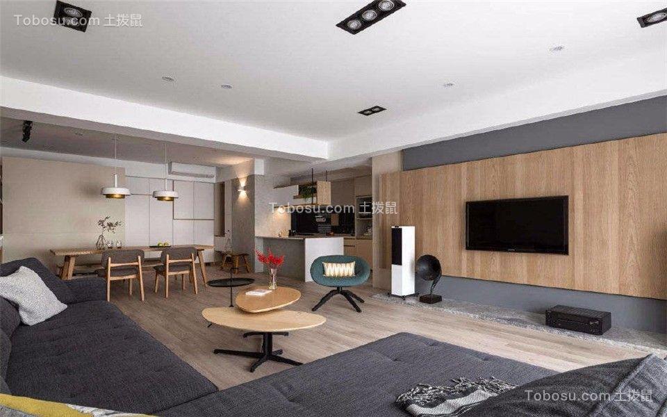 90平米简欧三室两厅装修效果图