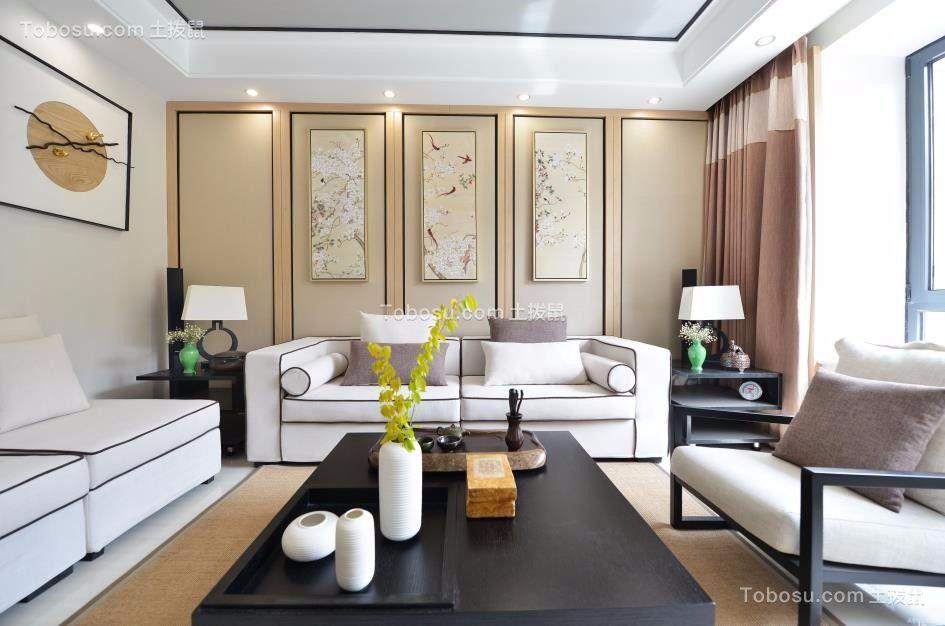 168平米四室两厅两卫简约新中式风格装修效果图