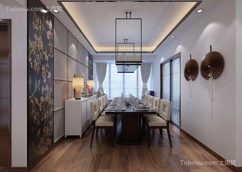 2019中式餐厅效果图 2019中式窗台装修图