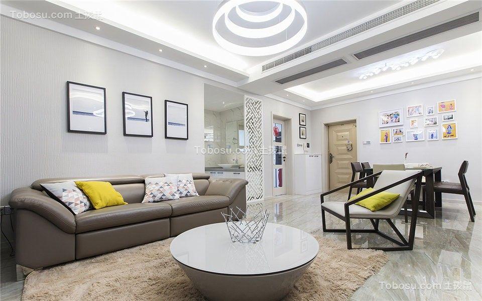 160平三居室北欧风格装修设计实景图