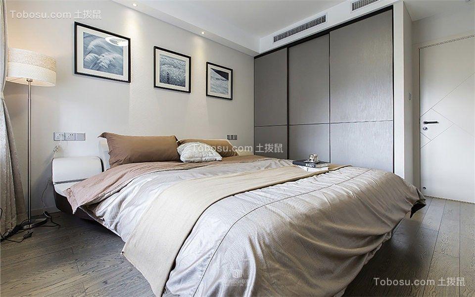 160平米三居室北欧风格装修设计实景图