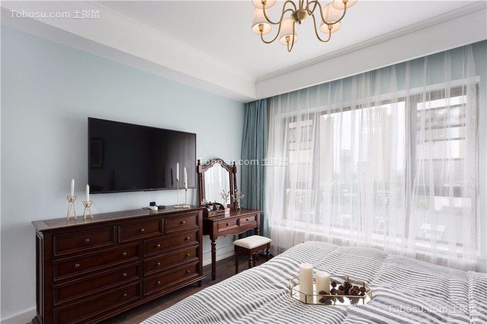 2019美式卧室装修设计图片 2019美式窗台装修设计图片