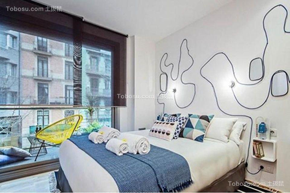 2019后现代卧室装修设计图片 2019后现代床图片