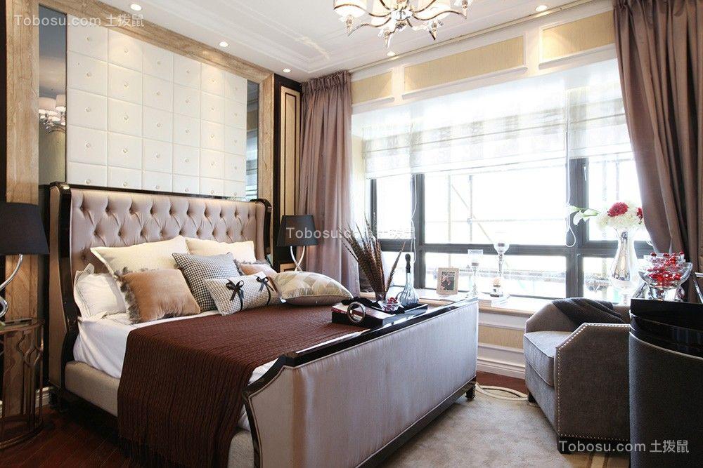2019新古典客厅装修设计 2019新古典窗帘装修效果图片
