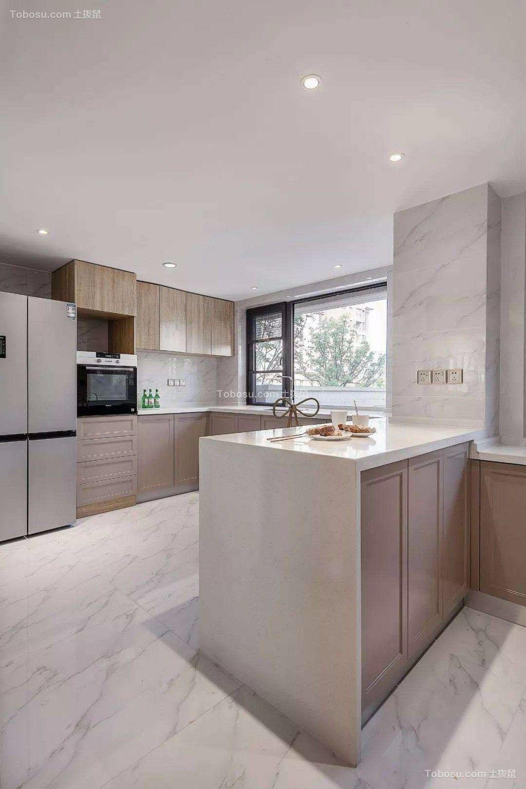2019法式厨房装修图 2019法式吧台装修设计图片