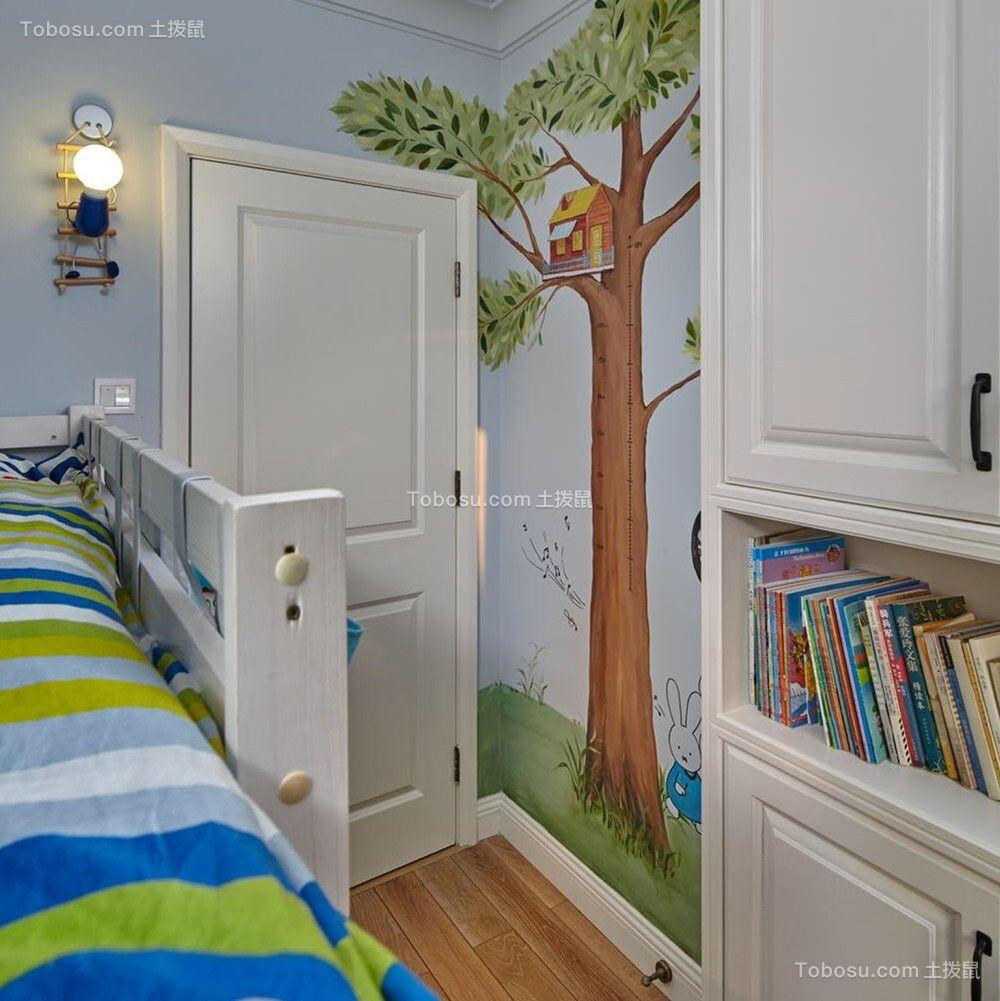 2019复古儿童房装饰设计 2019复古隔断装修设计图片