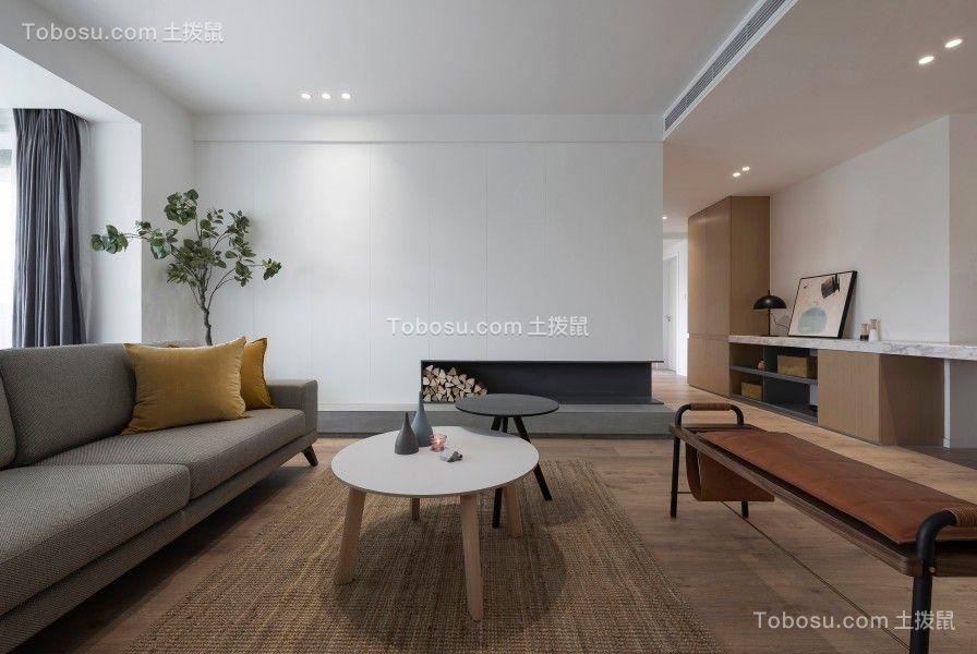 158平现代简约北欧公寓设计效果图