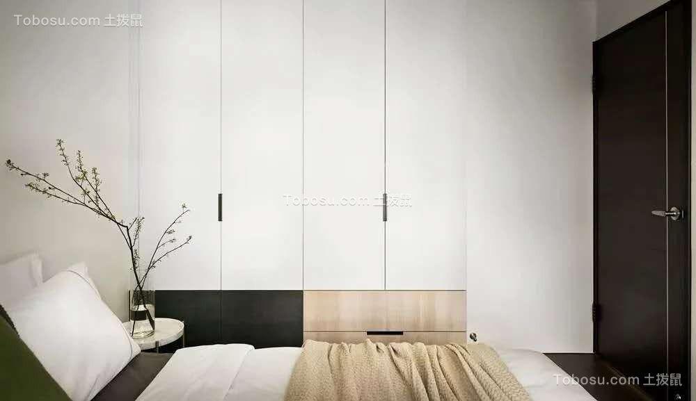 极简小清新三室简约风格装修效果图