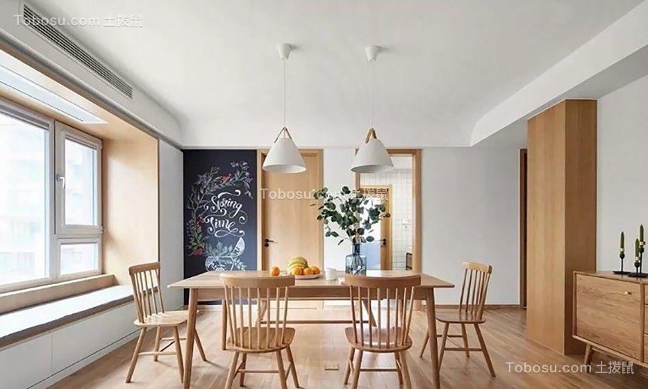 96平米两室一厅简约风装修效果图