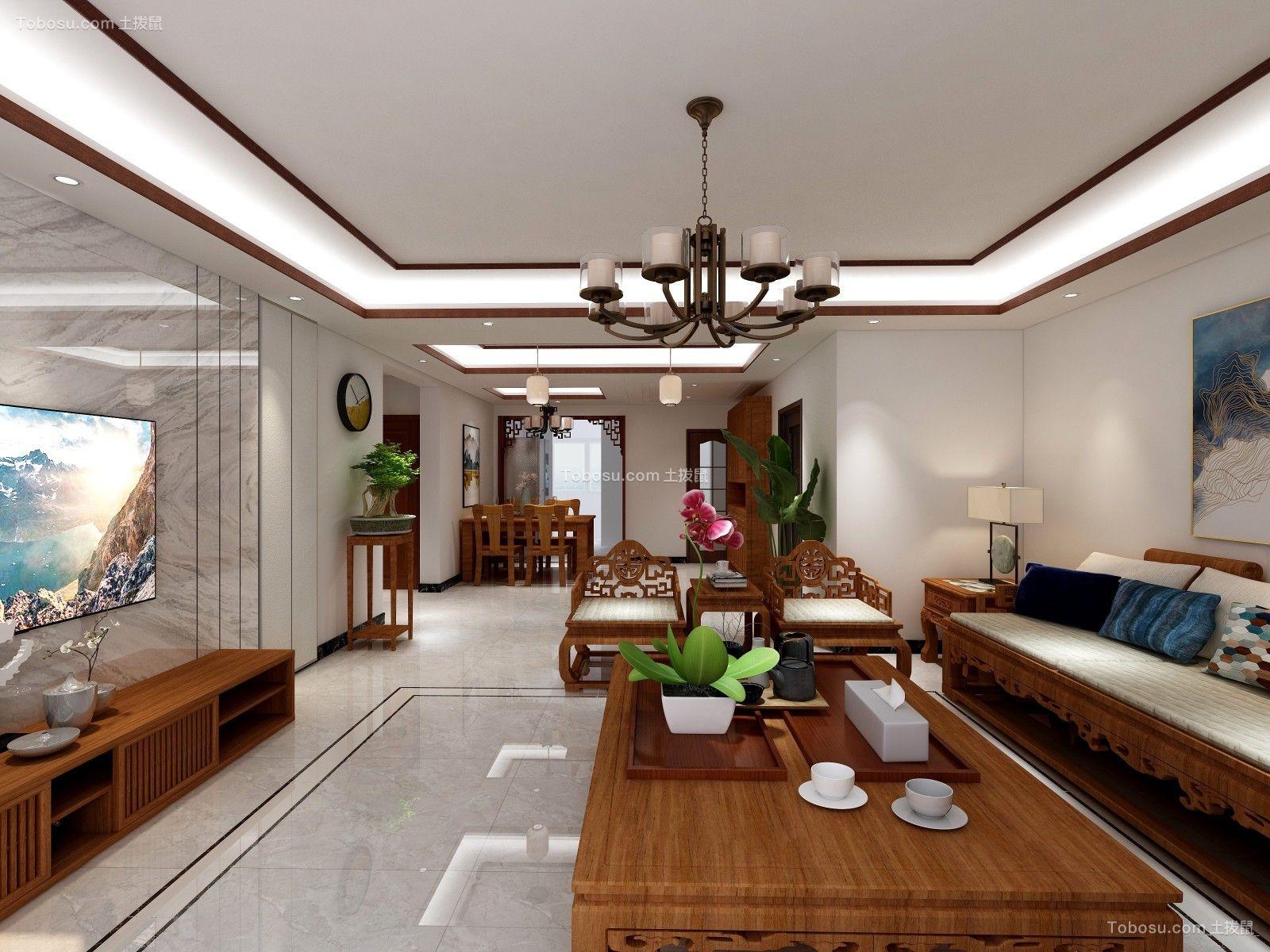 148平米三房两厅新中式装修