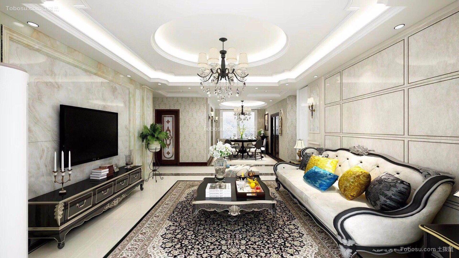 2019新古典客厅装修设计 2019新古典沙发装修图