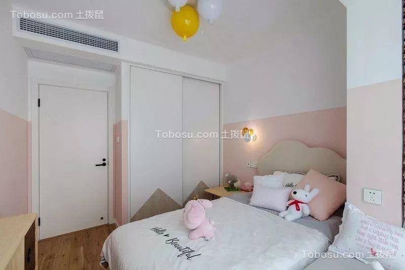 2019日式儿童房装饰设计 2019日式床装修效果图片