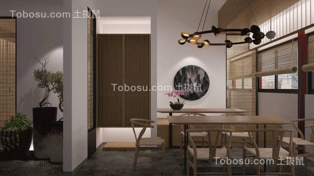 2019中式餐厅效果图 2019中式餐桌装修效果图片