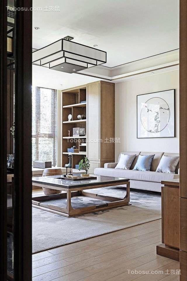 2020中式客厅装修设计 2020中式沙发装修图