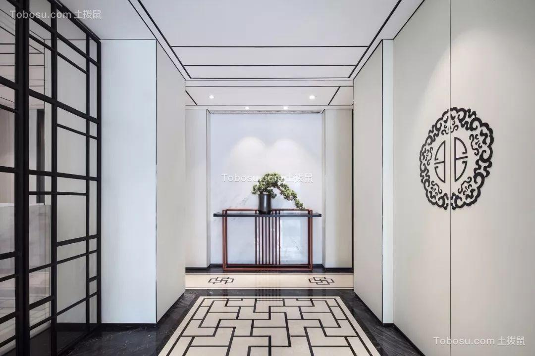 2019中式玄关图片 2019中式背景墙装修设计