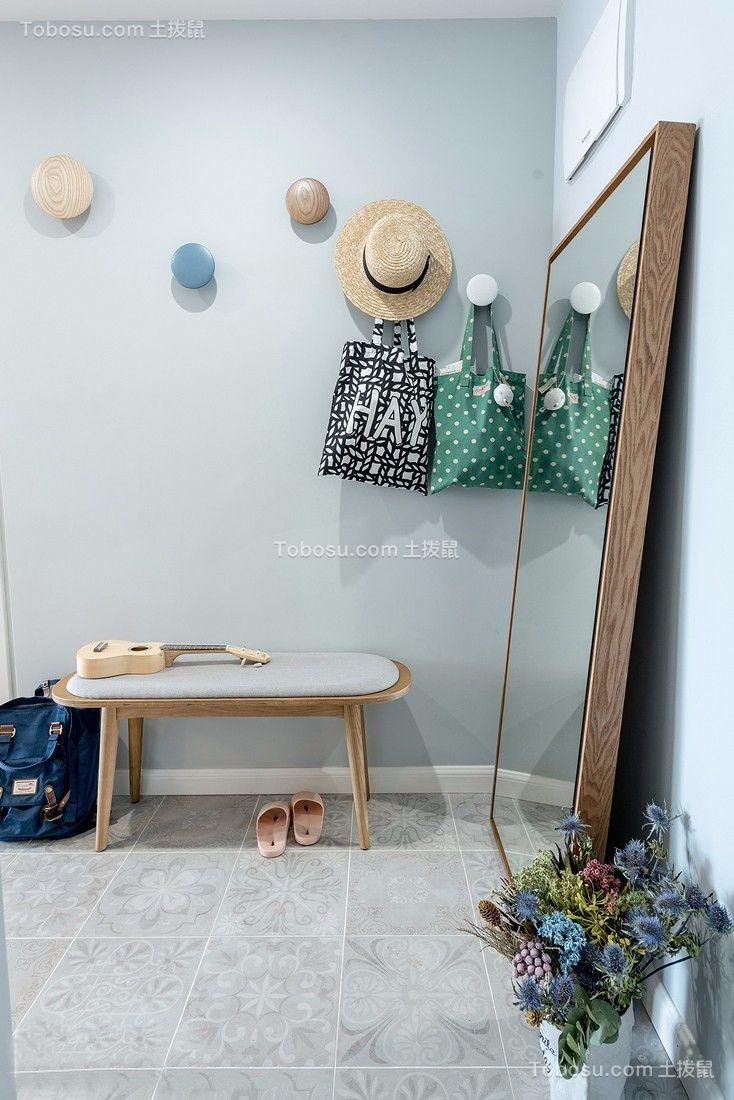 80平舒适北欧2室2厅,清新自然的小资格调
