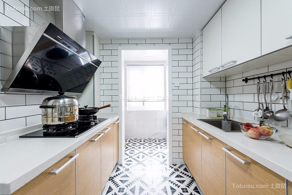 80平米舒适北欧2室2厅,清新自然的小资格调