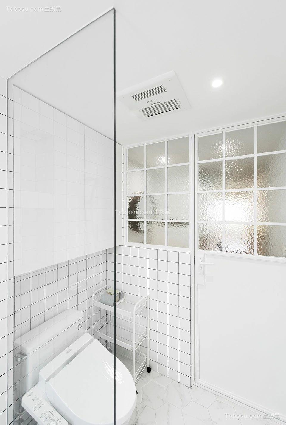 2019田园浴室设计图片 2019田园淋浴房设计图片