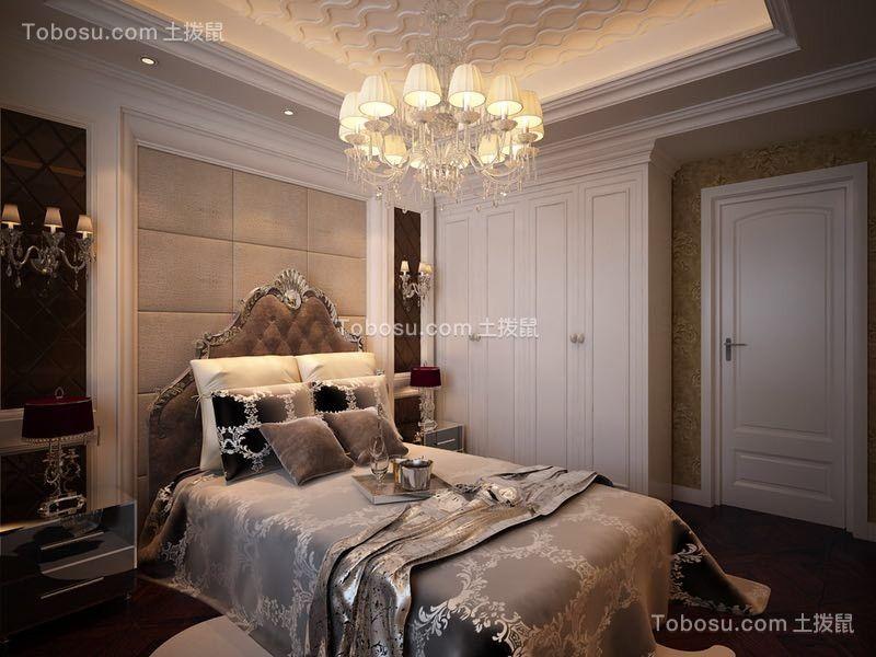 2019欧式卧室装修设计图片 2019欧式床图片