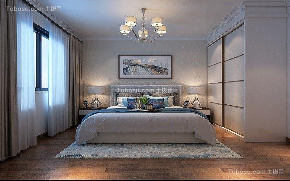 2019现代简约卧室装修设计图片 2019现代简约地板砖装修效果图片