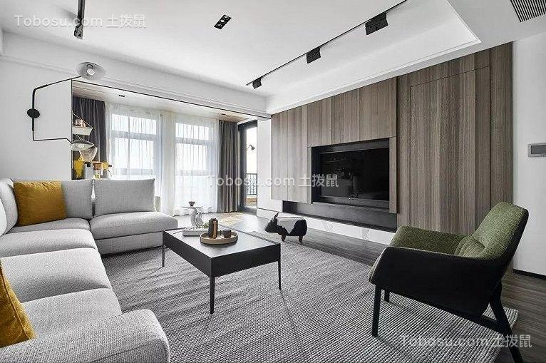 165平米三室混搭风格装修效果图