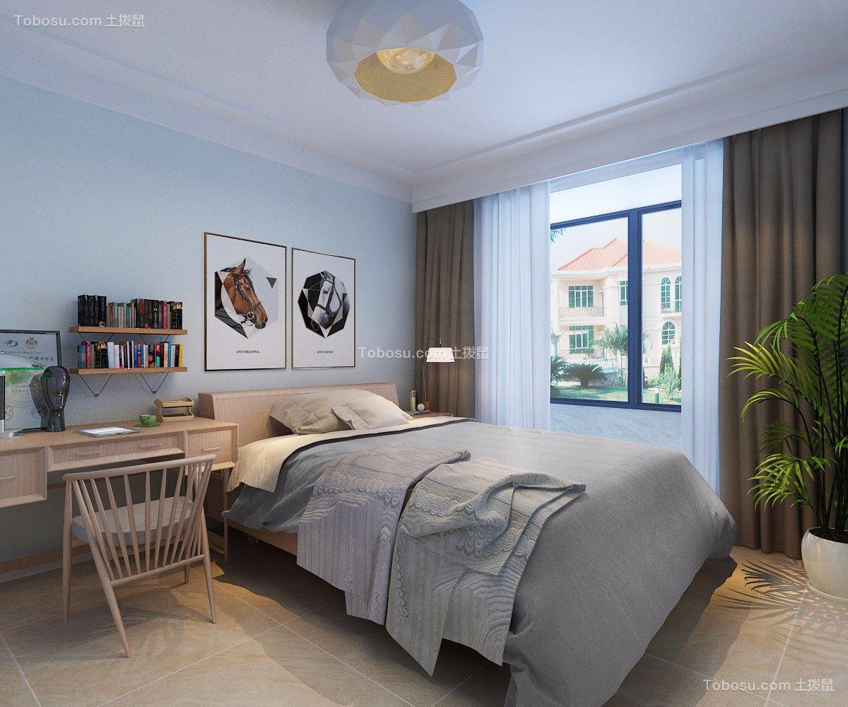 鹿泉健康城120平米赠送露台温馨现代简约混搭室内装修