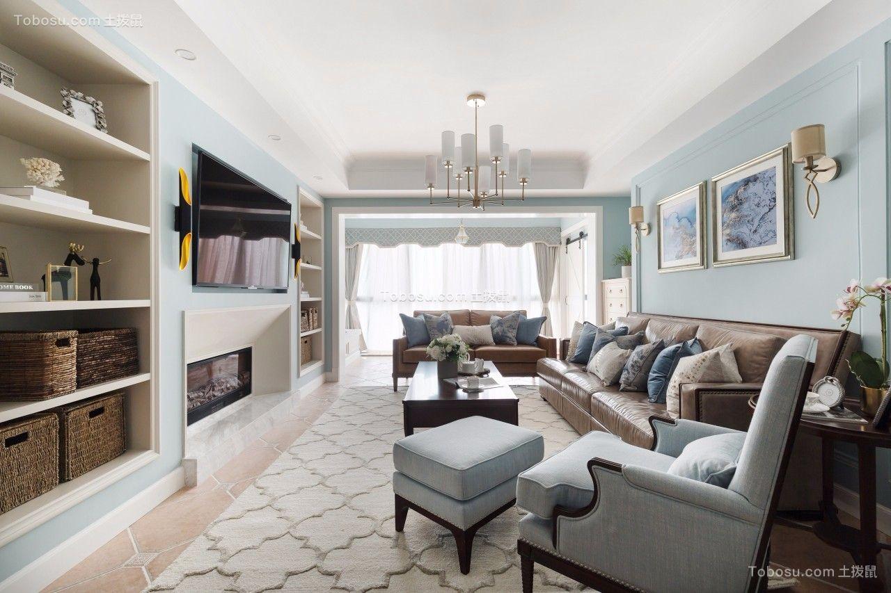 2019美式客厅装修设计 2019美式细节装饰设计