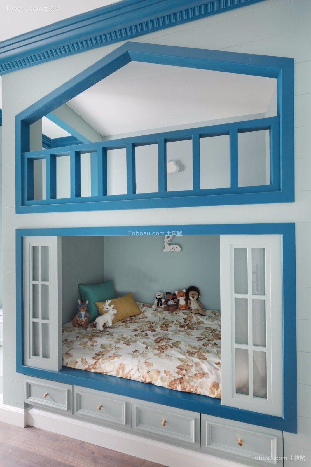 2019美式卧室装修设计图片 2019美式沙发效果图