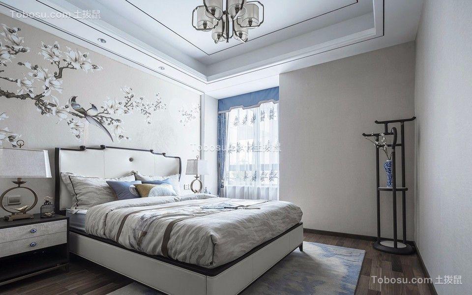 2019中式卧室装修设计图片 2019中式窗帘装修设计图片
